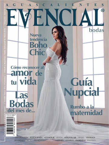 40ce7d376 No. 20 Evencial Bodas   XV Años Ago   Oct 2017 by Revista Evencial ...