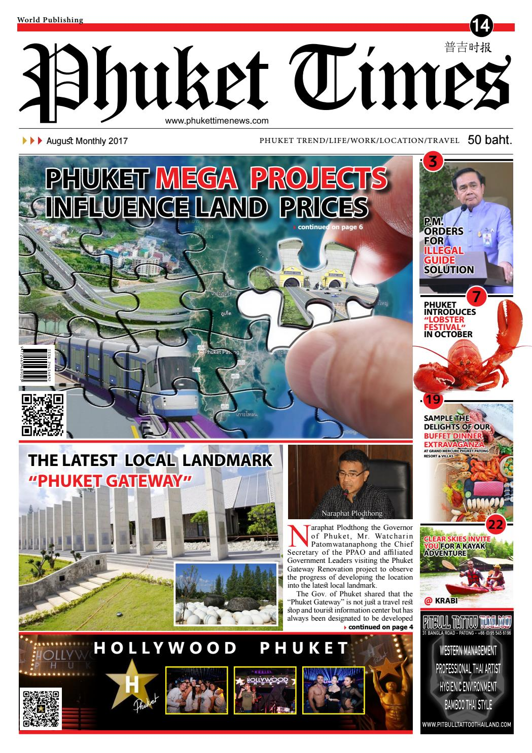 Phuket Times Newspaper No14 July Monthly 2017 By
