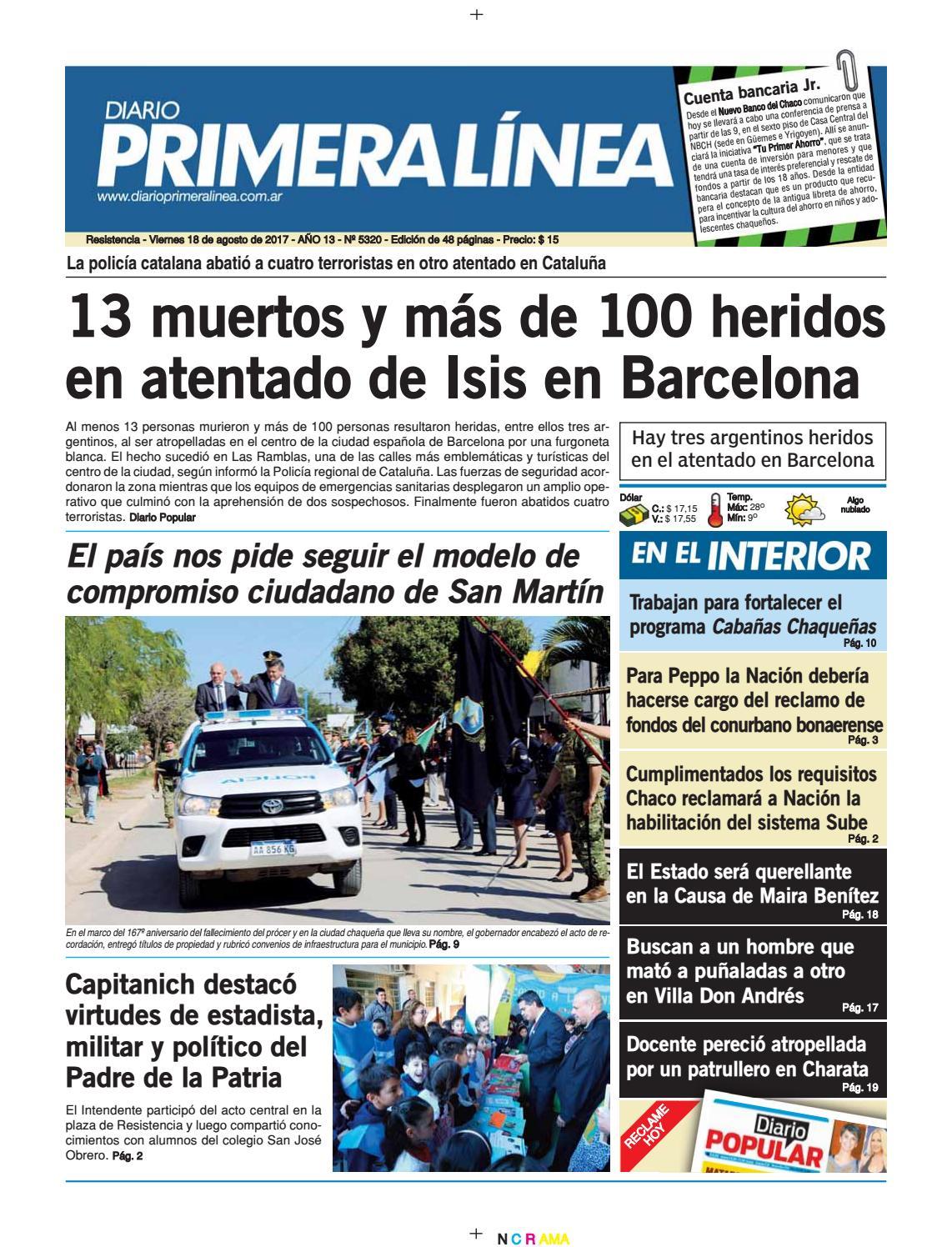 Linea 18 08 Diario Línea Issuu 5320 17 Primera By 29WHDEI