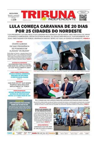 664fe1ee036cf Edição número 2964 - 18 de agosto de 2017 by Tribuna Hoje - issuu