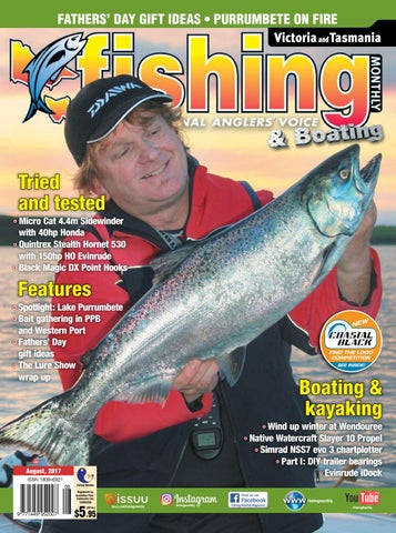 251cd20c7a6 Vic Tas Fishing Monthly August 2017 by Fishing Monthly - issuu