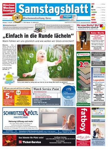 Samstagsblatt Süd ePaper KW 33 2017 by Wochenanzeiger Medien