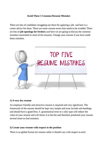 Importance Of Professional Resume Useful Tips For Job Seekers By