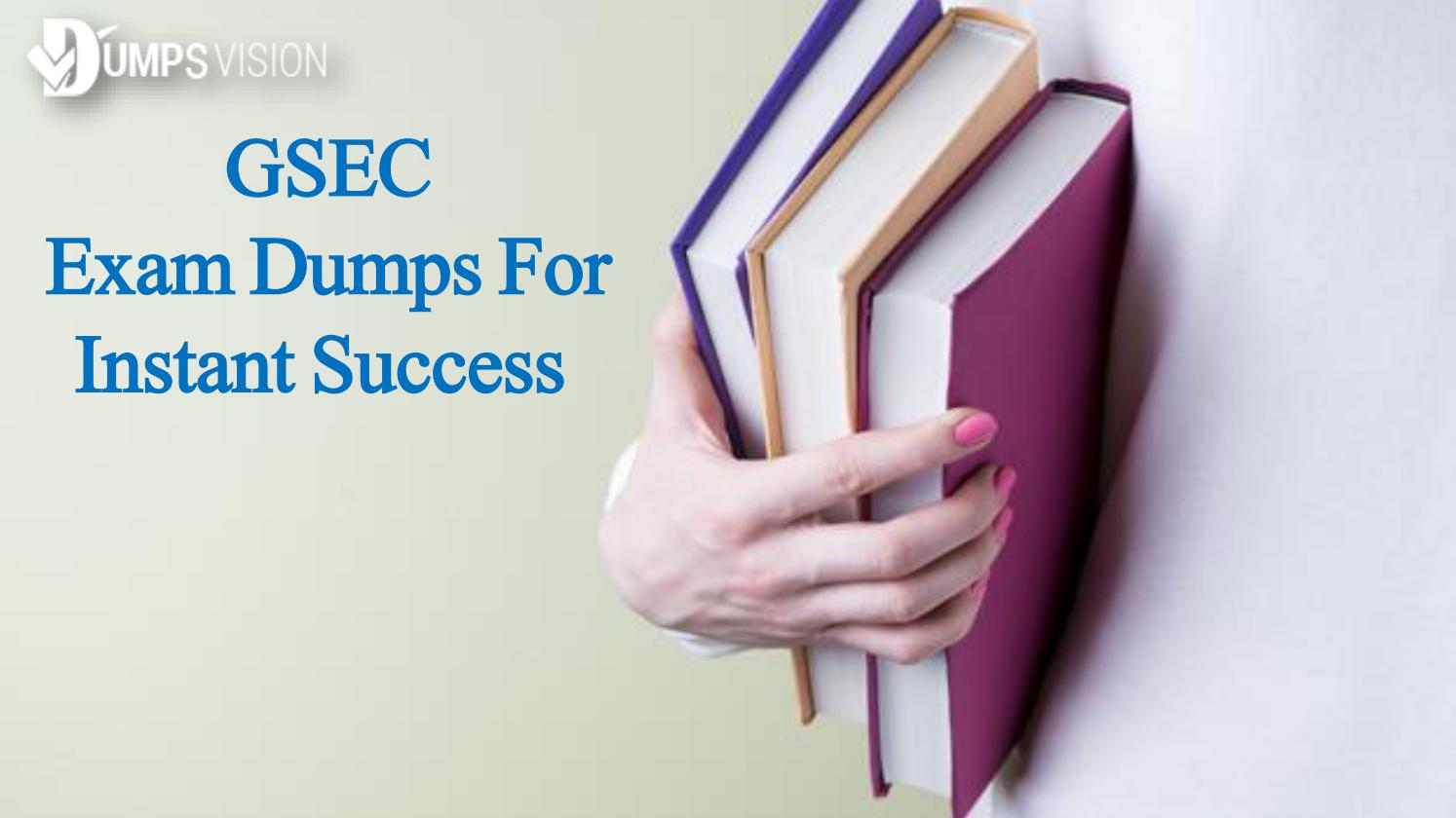 Exam Gsec Test Pdf Questions Exam Dumps And Gsec Practice Test By