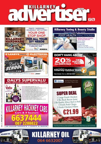75aece1ae3 Killarney Advertiser 18th August