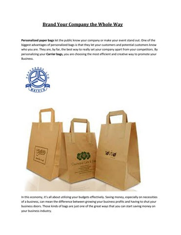 Paper Bags By Global Fusion Agency