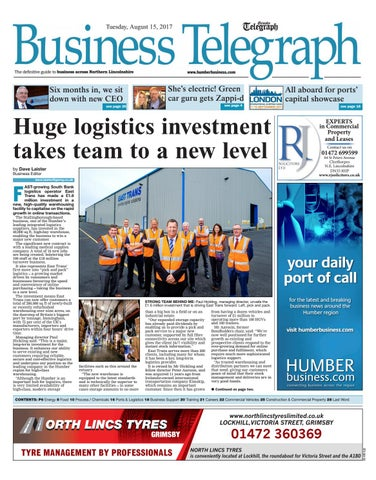 August business telegraph 2017 by humber business issuu page 1 malvernweather Image collections