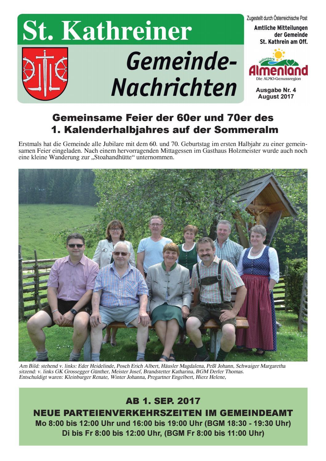 Krottendorf-gaisfeld nette leute kennenlernen Riegersburg