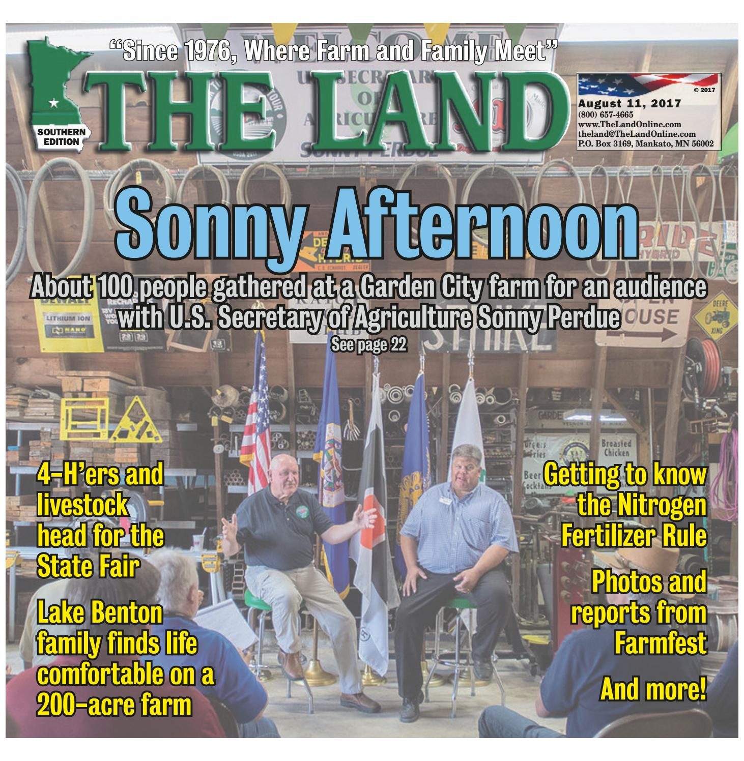 The Land August 11 2017 Southern Edition By Issuu Drive Vacuum Diagram In Addition Curtis 3000 Snow Plow Wiring