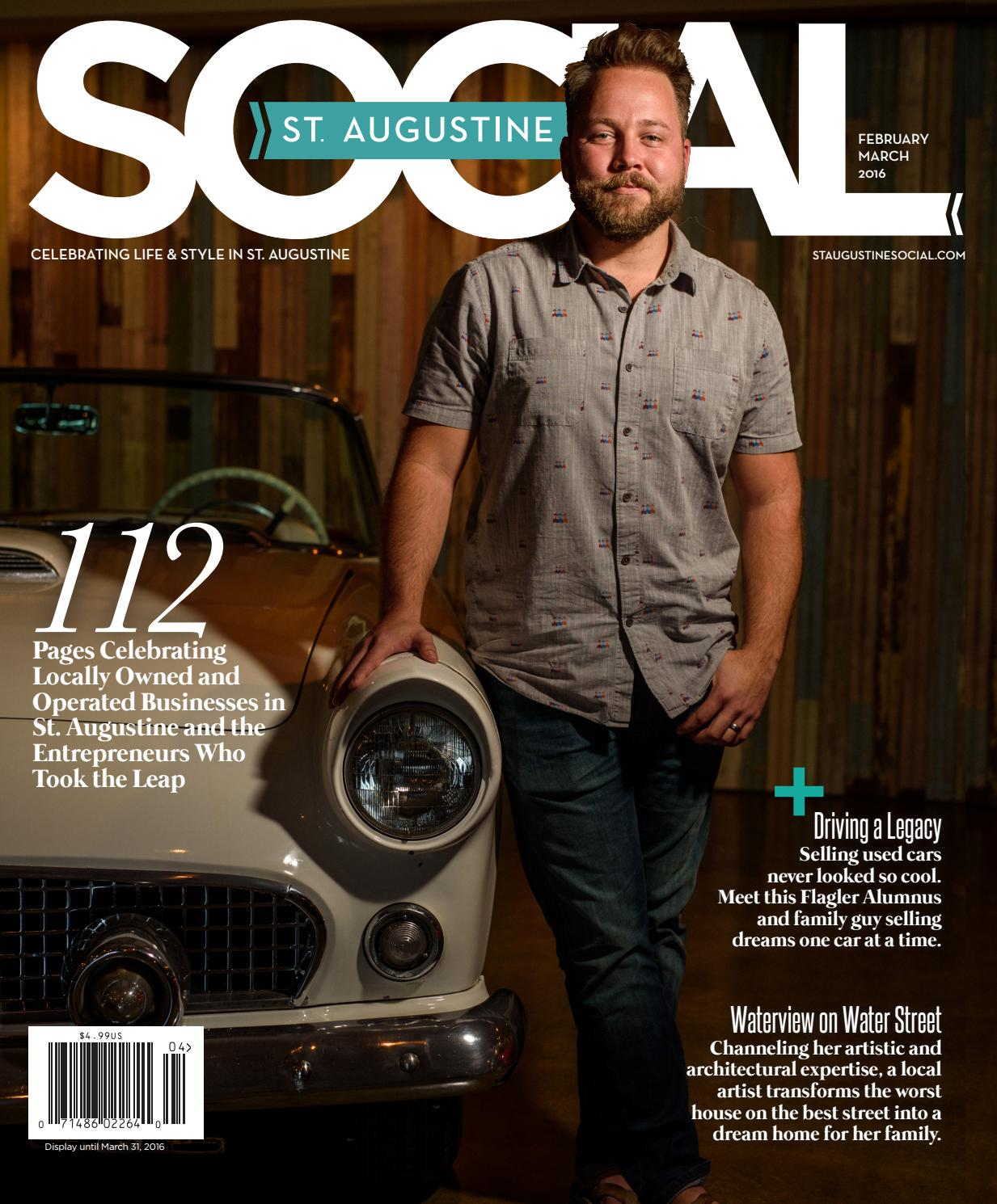 St  Augustine Social - Feb/Mar 2016 by Occasions Media Group - issuu