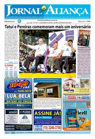 701e37a5f3 Edição - 747 by Jornal Aliança - issuu