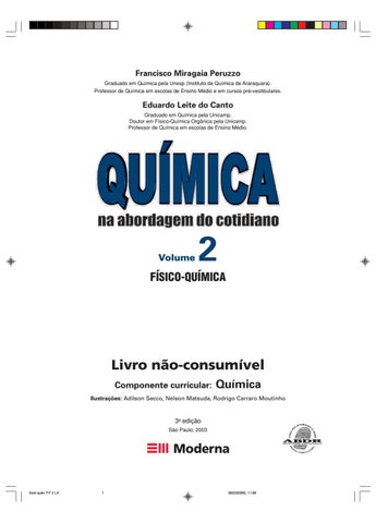 035bf8f19 Volume 2 tito e canto - Físico-química by Romézio Alves - issuu