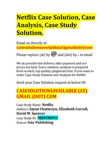 r/u0026r case understand solution
