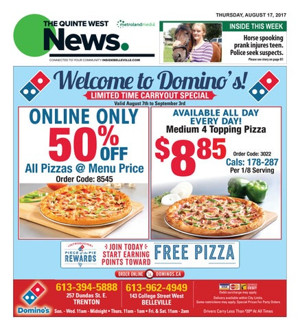 Quinte081717 By Metroland East Quinte West News Issuu