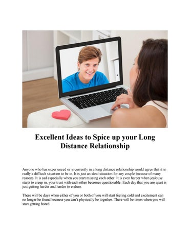 How to spice up your long distance relationship