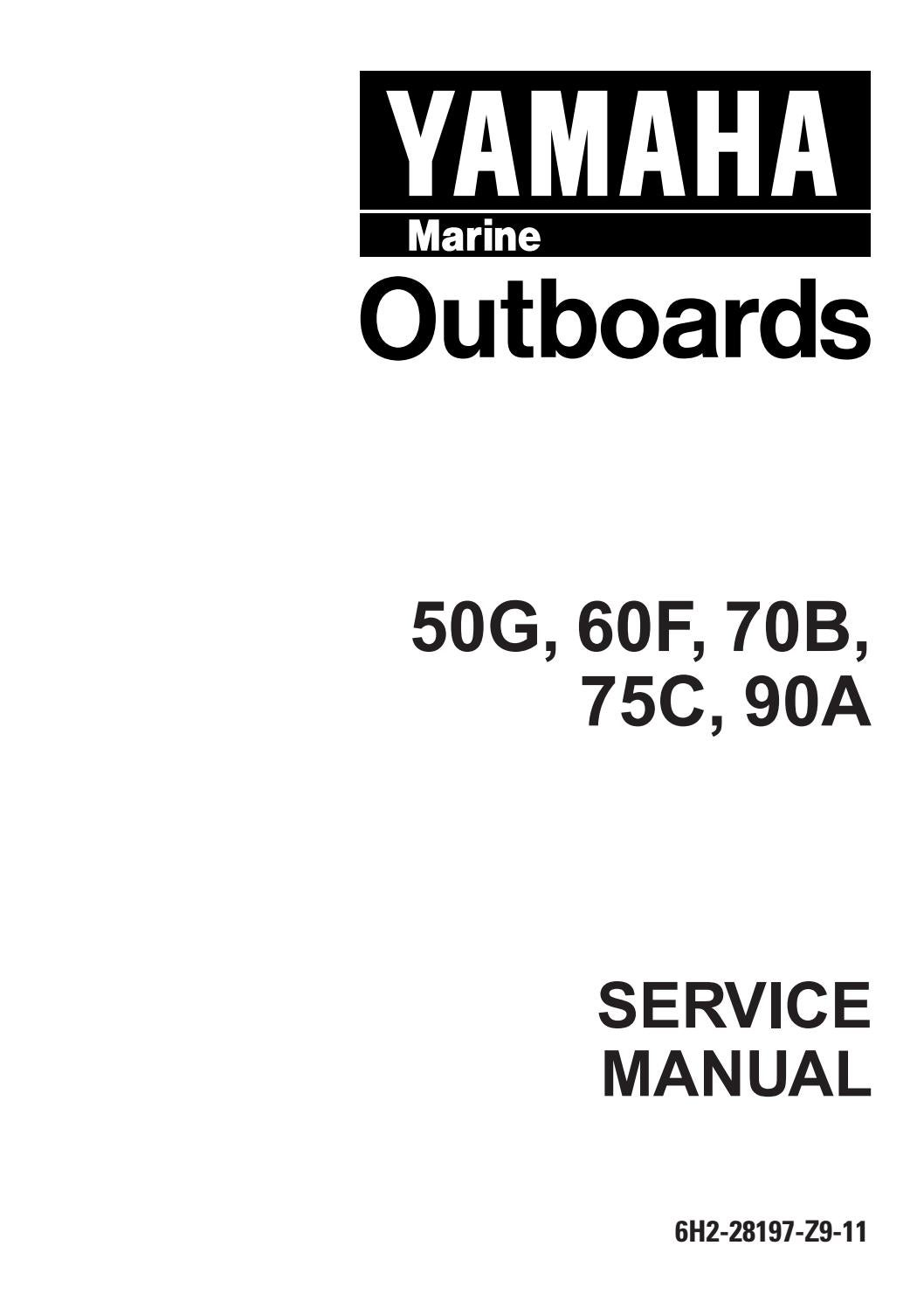Yamaha 70beto, 70tr outboard service repair manual l 491824
