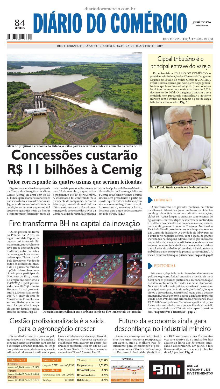 23438 by Diário do Comércio - Belo Horizonte - issuu 05815093e6