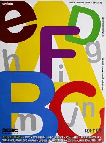 Revista E - Junho de 2012 - ANO 18 - Nº 12 by Sesc em São Paulo - issuu 7d9f2b5bd81