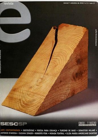 5df661c85 Revista E - Setembro de 2010 - ANO 17 - Nº 3 by Sesc em São Paulo ...