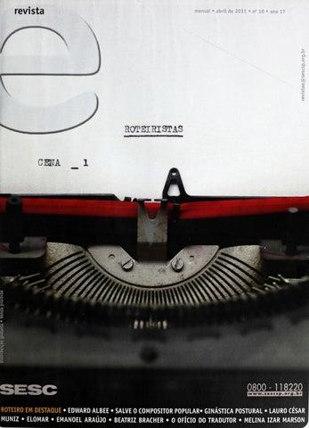 Revista E - Abril de 2011 - ANO 17 - Nº 10 by Sesc em São Paulo - issuu f775295d3d