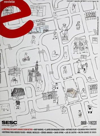 c75df497ef7a1 Revista E - Agosto de 2011 - ANO 18 - Nº 2 by Sesc em São Paulo - issuu