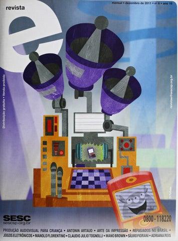 Revista E - Dezembro de 2011 - ANO 18 - Nº 6 by Sesc em São Paulo ... 4f8e394f7d980