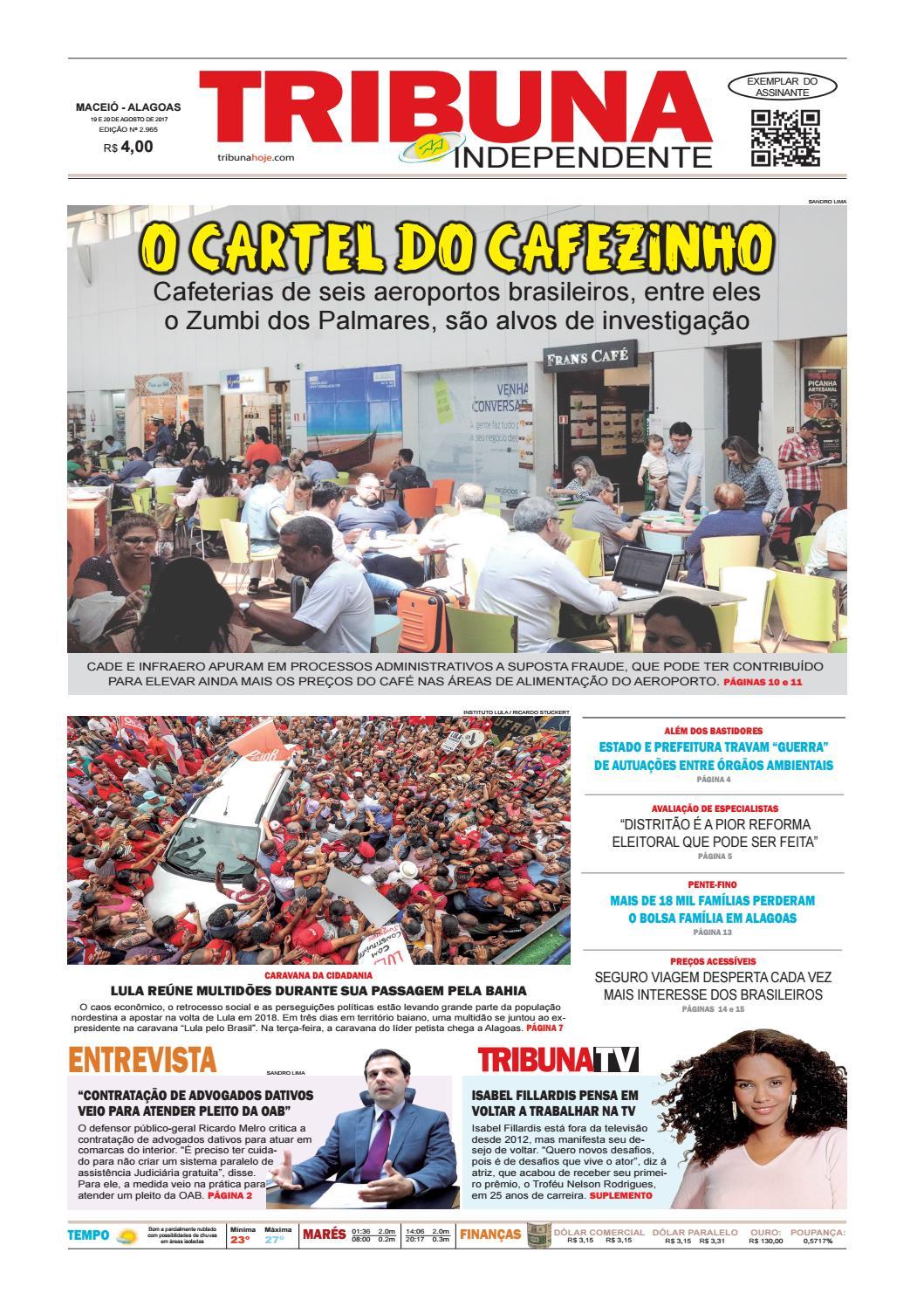 Edição número 2965 - 19 e 20 de agosto de 2017 by Tribuna Hoje - issuu a41313f1e0d63