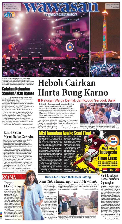 Wawasan 19 Agustus 2017 By Koran Pagi Issuu Kopi Robusta Yoen Iskan Akumandiri