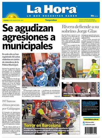 Tungurahua 18 de agosto de 2017 by Diario La Hora Ecuador - issuu ab16d8eaf12