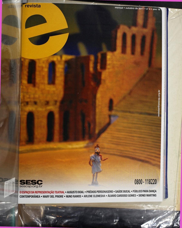 8b64db41e Revista E - Outubro de 2011 - ANO 18 - Nº 4 by Sesc em São Paulo - issuu