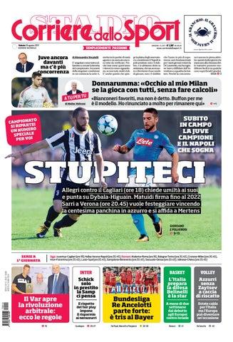 Corriere dello sport 19 agosto 2017 by SportTV - issuu 6adf2a3c9f0b