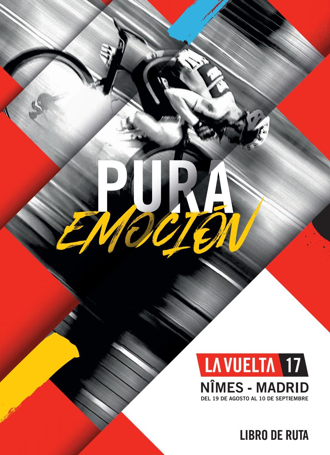 Roadbook La Vuelta 2017 By Iberobike Com Issuu