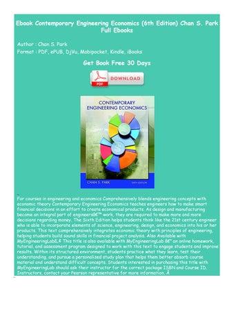 Ebook Of Engineering Economics