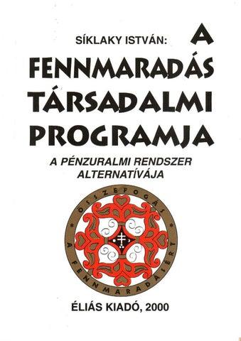 3b333dae51 Síklaky István - A Fennmaradás Társadalmi Programja Könyv PDF ...