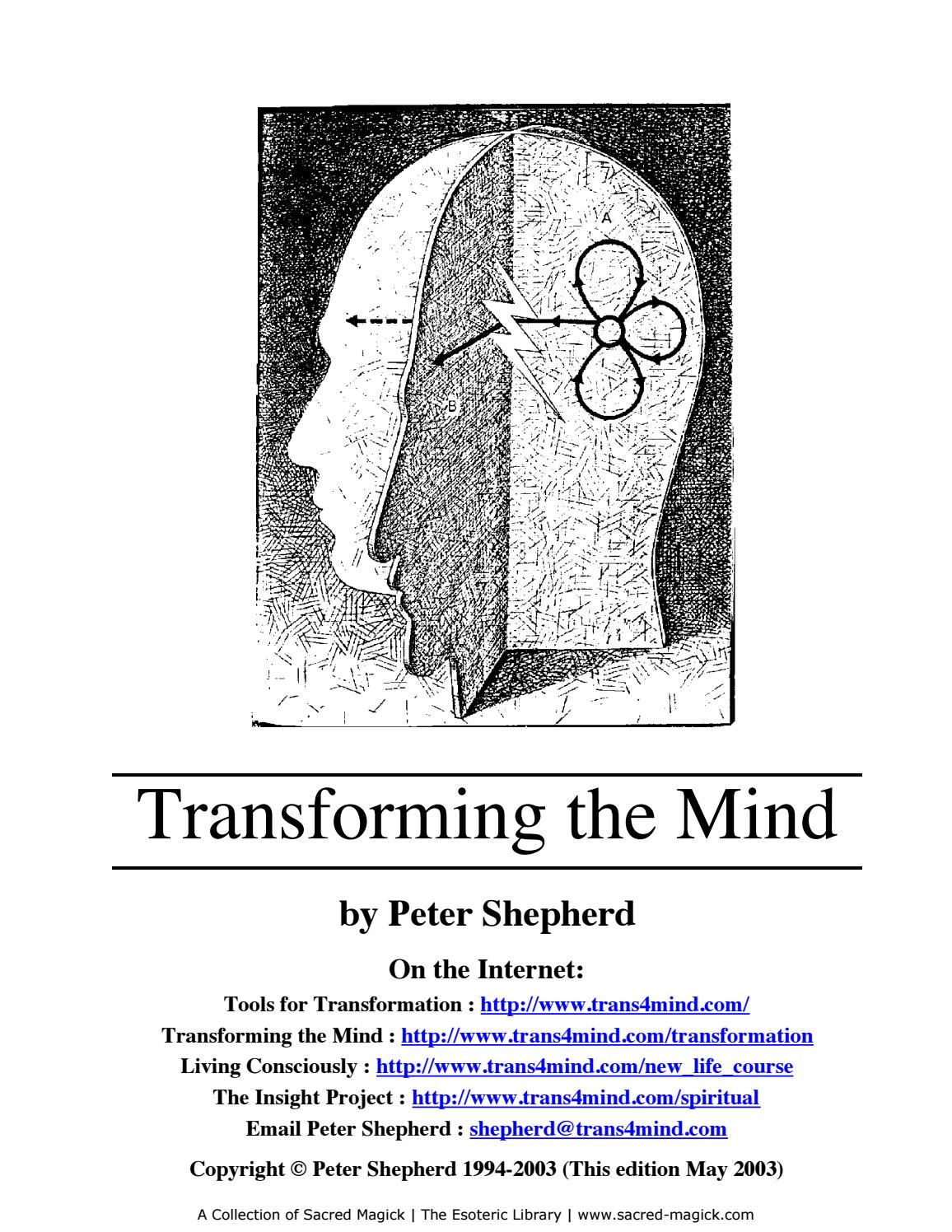 Scribd download com transforming your mind by Marius Andrei