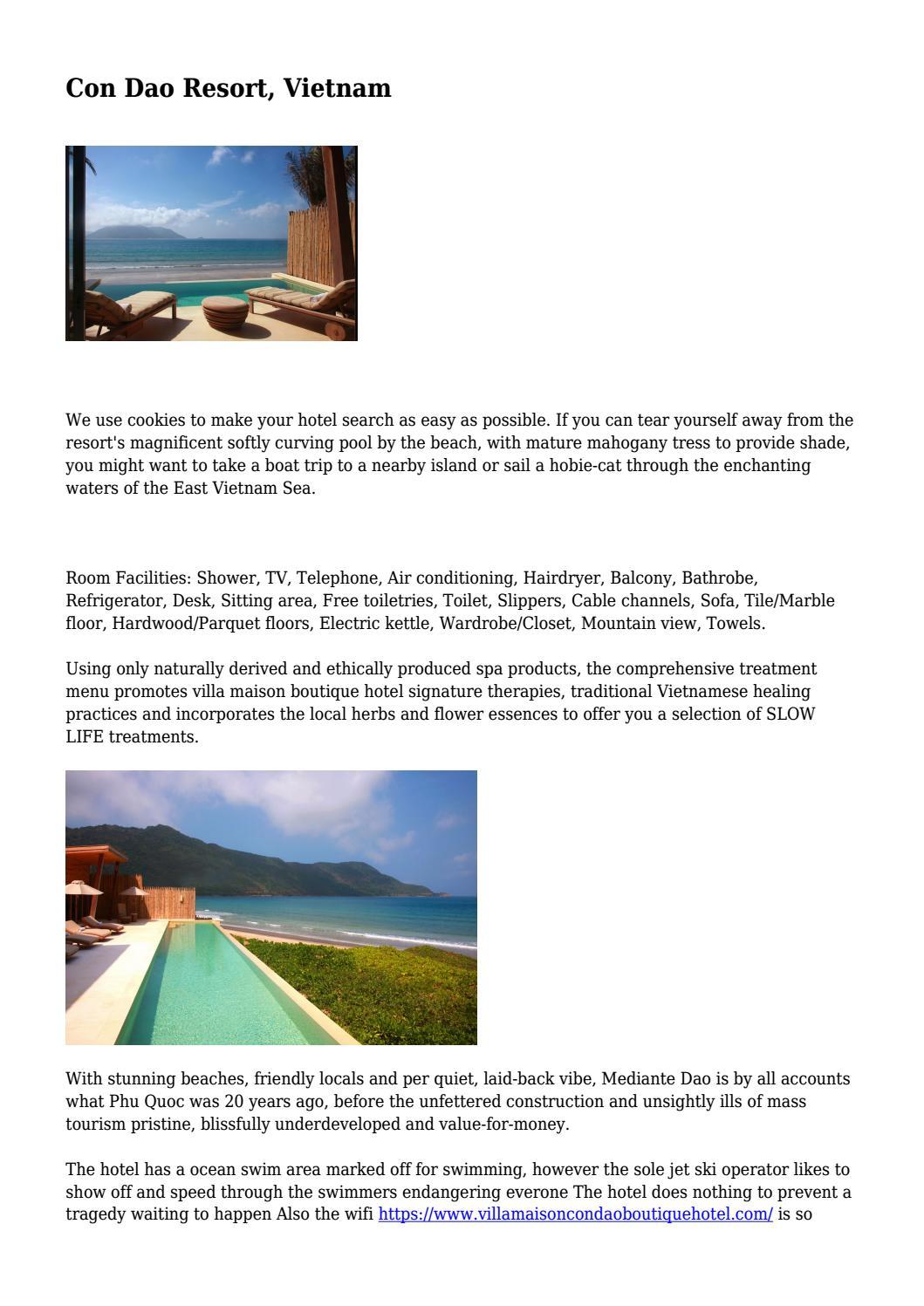 Con Dao Resort, Vietnam    by bushagarvloorj - issuu