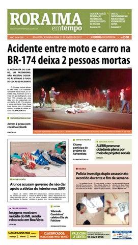 jornal roraima em tempo edição 709 by roraimaemtempo issuu