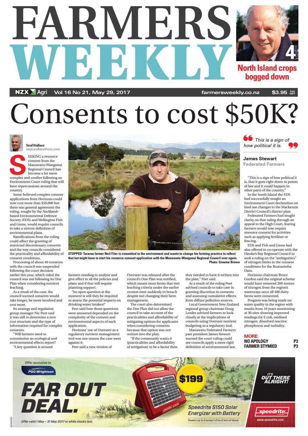 Farmers Weekly NZ May 29 2017