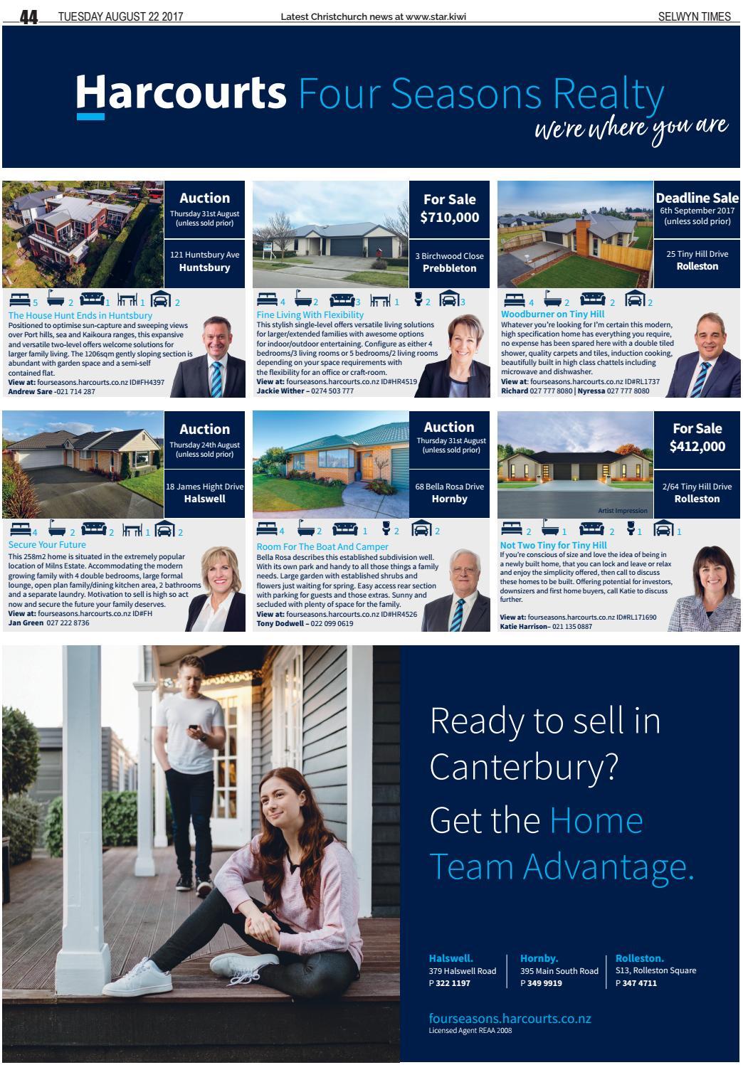 Selwyn Times 22-08-17 by Local Newspapers - issuu