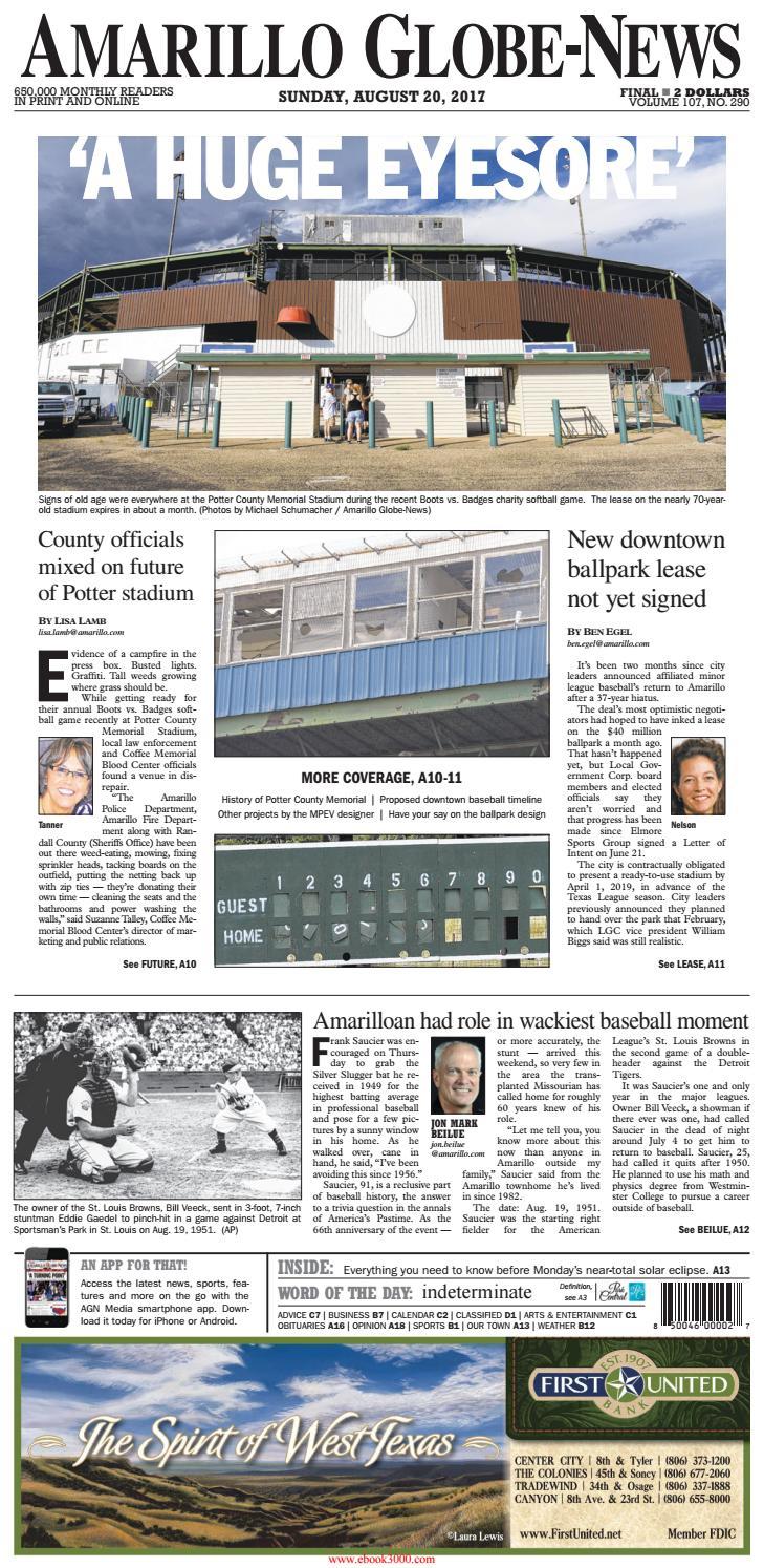 Amarillo globe news sports