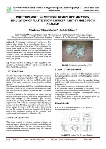 Injection Molding Methods Design, Optimization, Simulation