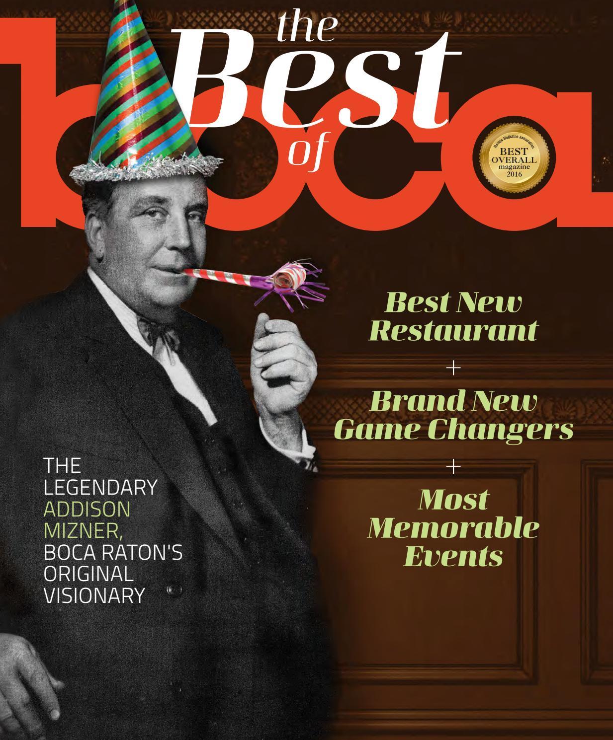 Boca Raton magazine July/August 2017 by JES Publishing - issuu