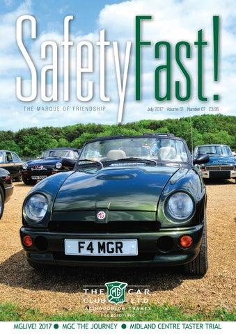 1ef769c108 Safety Fast! July 2017 by MG Car Club - issuu
