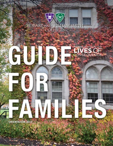 2017 Hws Guide For Families By Hobart And William Smith Colleges Issuu