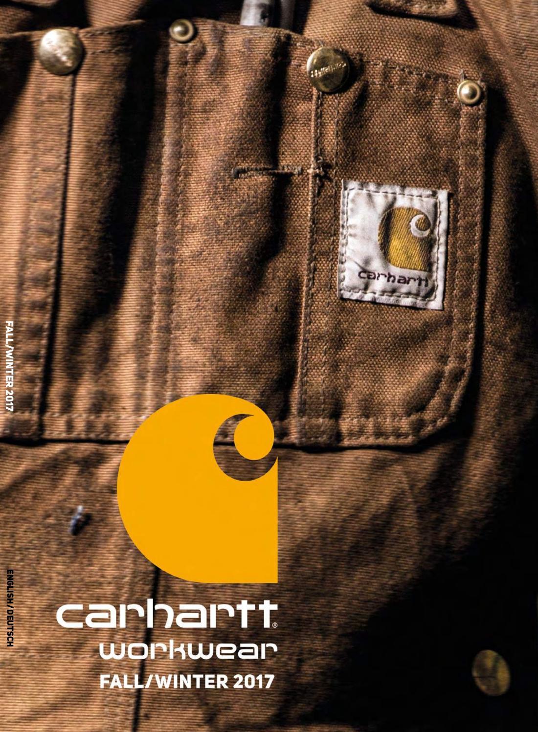 Carhartt Fall Winter 2017 By Feiber Distribution Issuu
