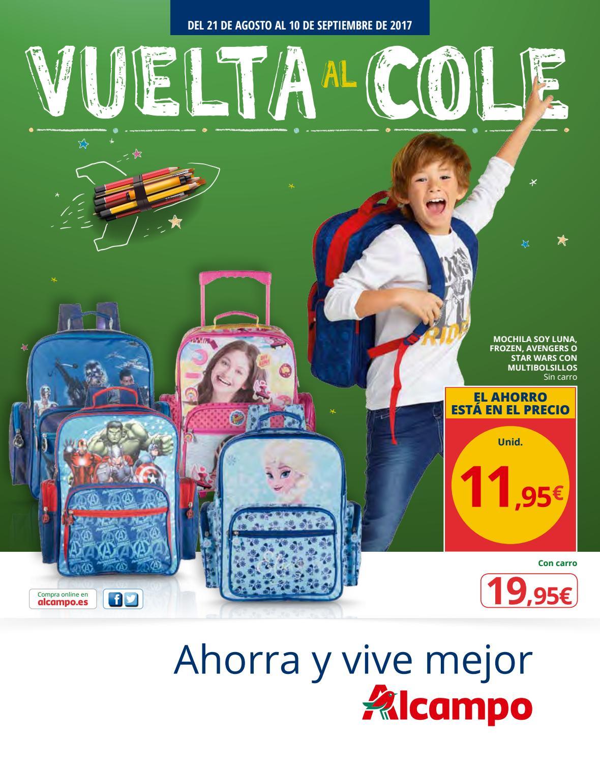 nuevo producto 48e69 51eaa VUELTA AL COLE EN ALCAMPO by Ofertas Supermercados - issuu