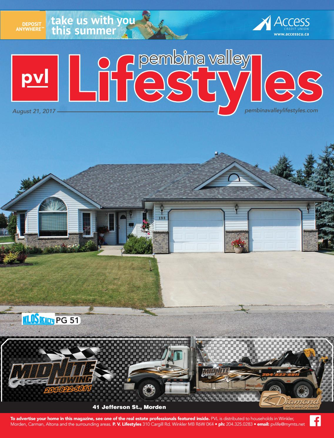 Lifestyles - August 21, 2017 by Pembina Valley Lifestyles - issuu