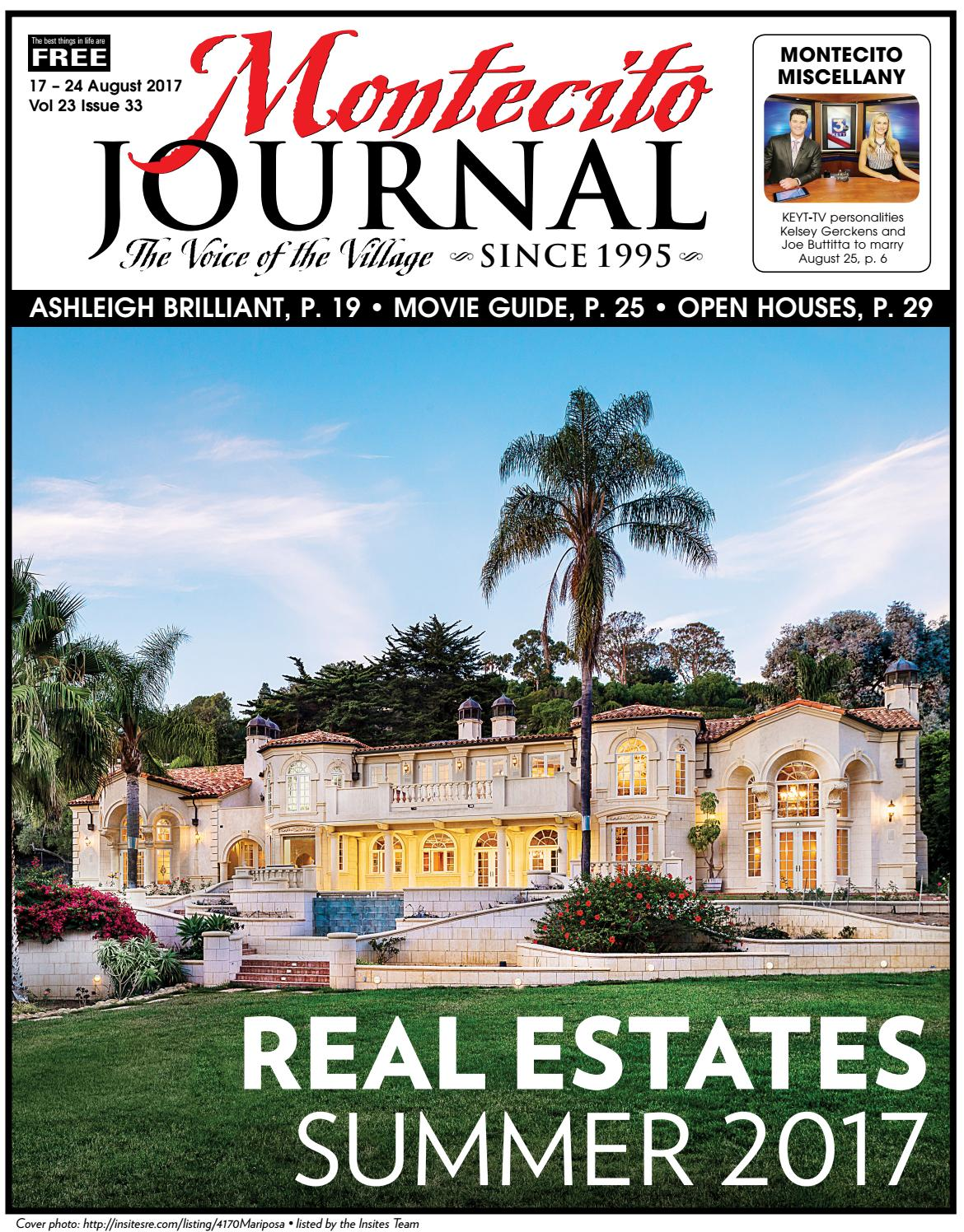 Real Estate Summer 2017 by Montecito Journal - issuu