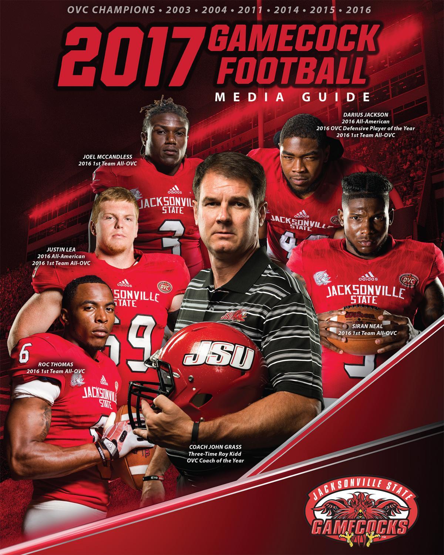 2017 Jacksonville State Football Media Guide by Jacksonville State  Athletics - issuu 1554cbf40
