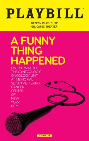 A Funny Thing Happened    Program by Geffen Playhouse - issuu